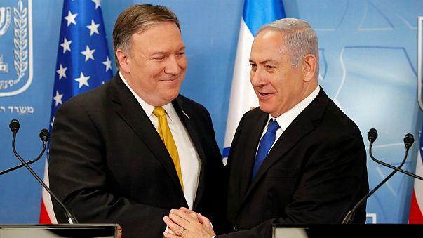 Pompeo deixou bem expresso a forte aliança com Netanyahu