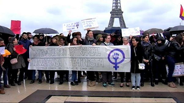 La indignación por 'La Manada' traspasa las fronteras