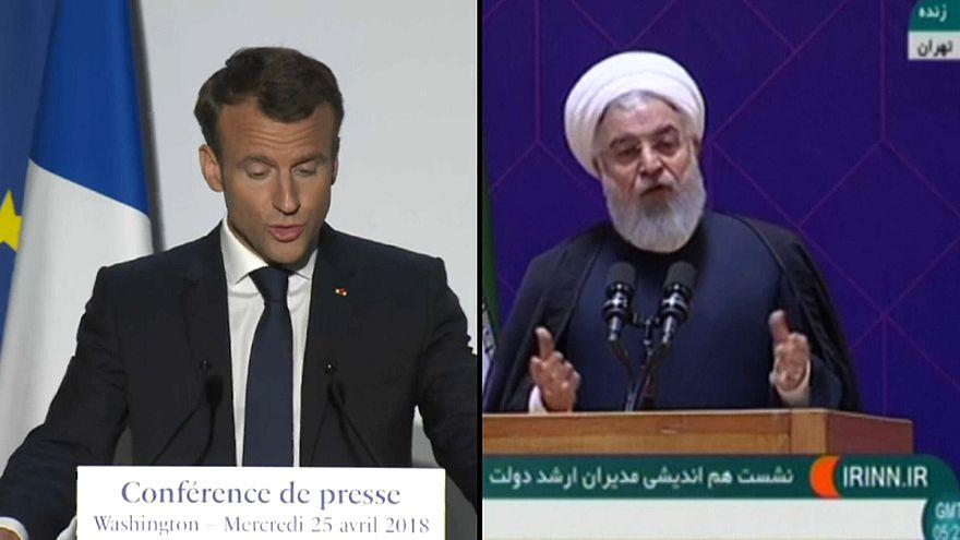 Macron-Rohani : sauver l'accord sur le nucléaire iranien