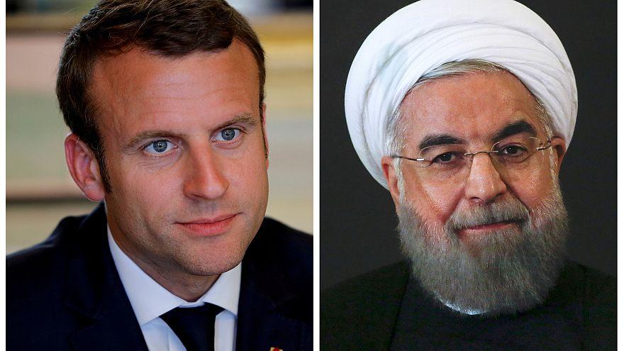 Frankreich und Iran werben für Erhalt des Atomabkommens
