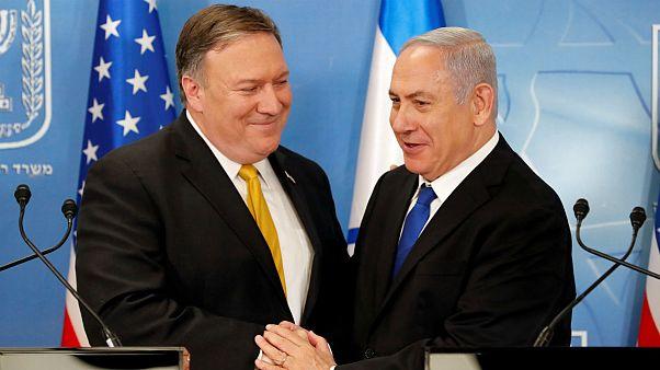 Benjamin Netanyahu -Mike Pompeo