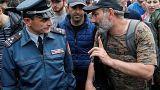 """Arménie : Pachinian, le """"candidat du peuple"""""""