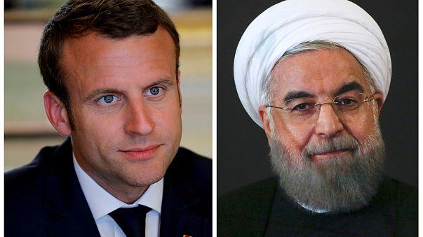 Macron e Rouhani debatem acordo nuclear pelo telefone