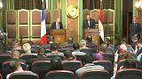 مصر وفرنسا تأملان في إجراء انتخابات بليبيا قبل نهاية 2018