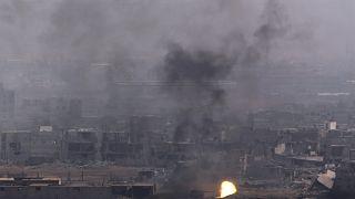 40 قتيلا في هجمات صاروخية استهدفت مواقع عسكرية سورية