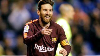 ميسي يقود برشلونة للظفر بلقب الدوري الإسباني