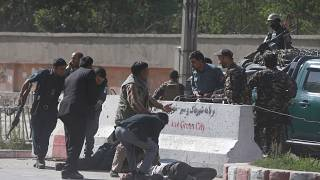 Afghanistan: journalists among 25 dead in Kabul rush hour blasts
