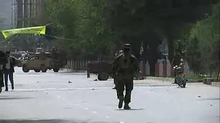 Robbanás Kabulban