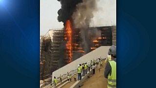 Egitto, incendio nel cantiere del museo egizio di Giza