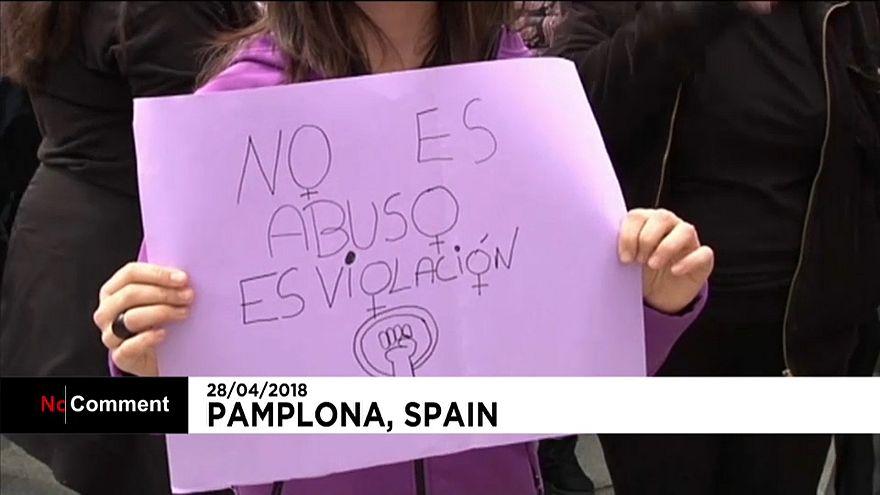 Agression sexuelle : la protestation enfle à Pampelune