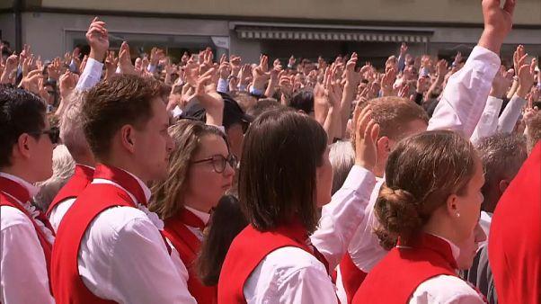 Letzter Sonntag im April: Landsgemeinde in Appenzell