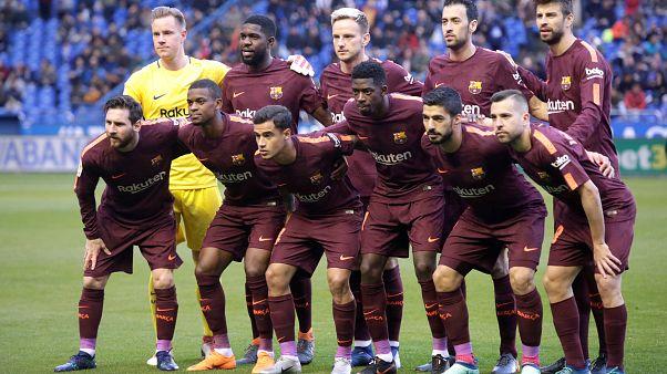 La Liga'nın şampiyonu Barcelona