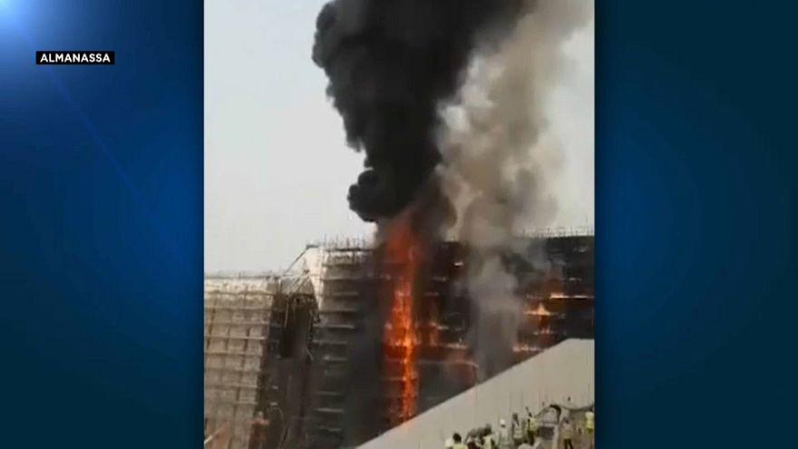 Incendie au Grand Musée égyptien