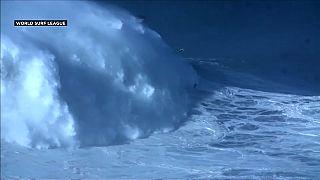 Rodrigo Koxa, recordman de la plus haute vague surfée du monde