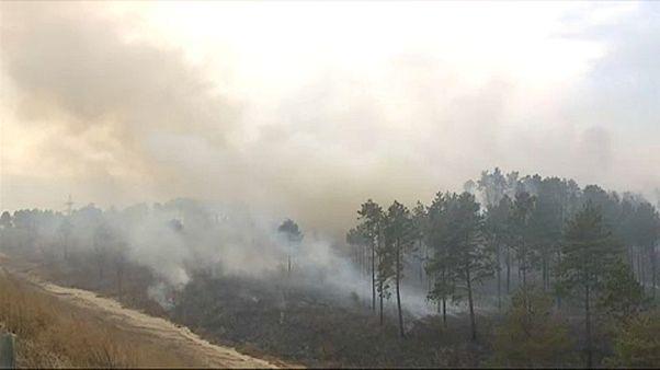 Erdőtüzek Oroszországban