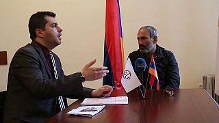 Armenia's man of the hour, Nikol Pashinyan