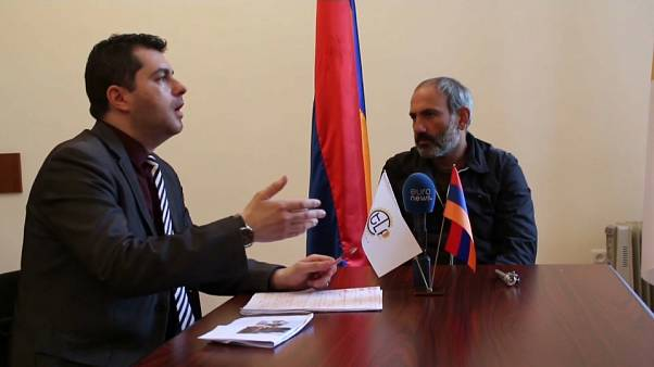 Armenia's man of the hour, Nikol Pashinyan