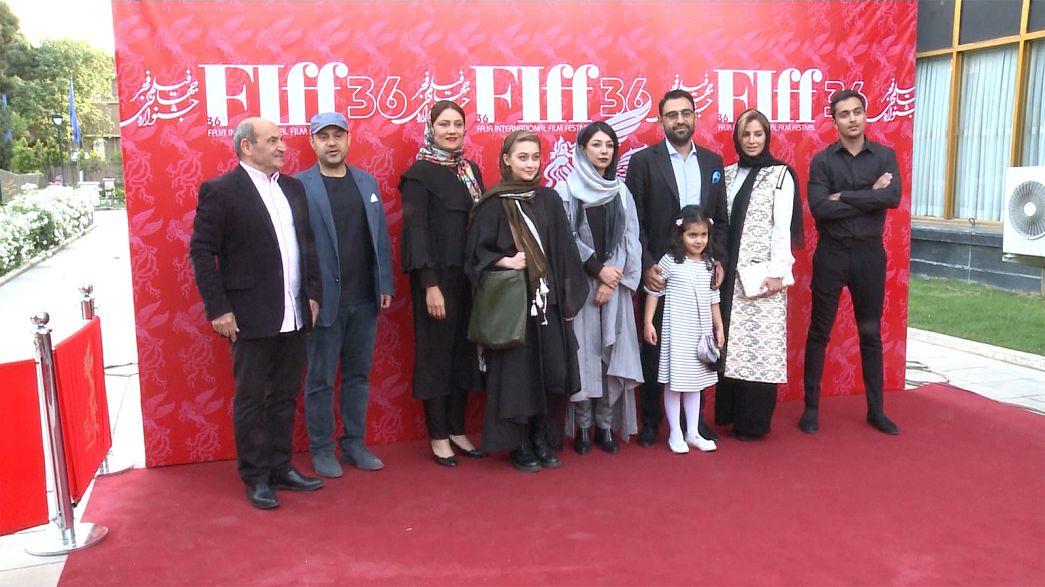Irán mira hacia el futuro en el festival de cine de Teherán