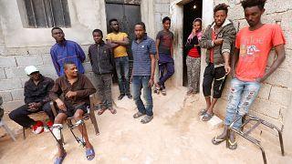 الوضع الأمني المنفلت في ليبيا يدفع بمهاجرين أفارقة إلى التخلي عن الحلم الأوروبي