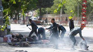 Dos explosiones en Kabul dejan al menos 25 muertos, ocho de ellos periodistas