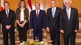 «Νόστος, η Επιστροφή» : Αναστασιάδης, Παυλόπουλος και αλ-Σίσι στην Αλεξάνδρεια