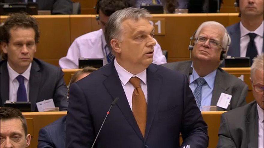 Brüsszelbe utazik szerdán Orbán Viktor