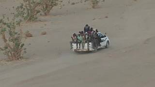 Afrikalı kaçak göçmenler artık ülkelerine dönmeye çalışıyor