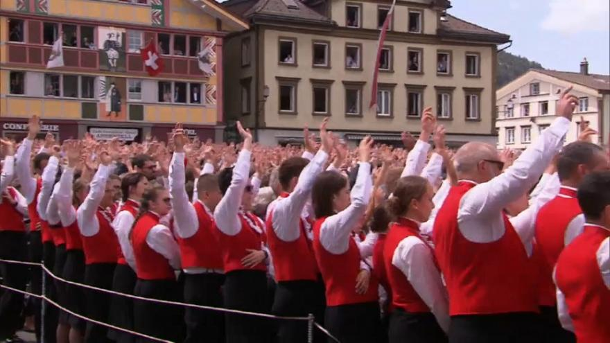 En Suisse, la démocratie en plein air