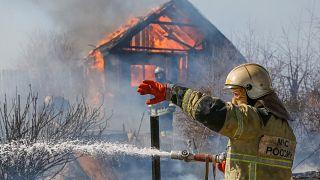 La taïga russe en proie aux flammes