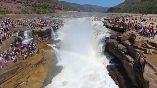 La cascade qui déplace les foules