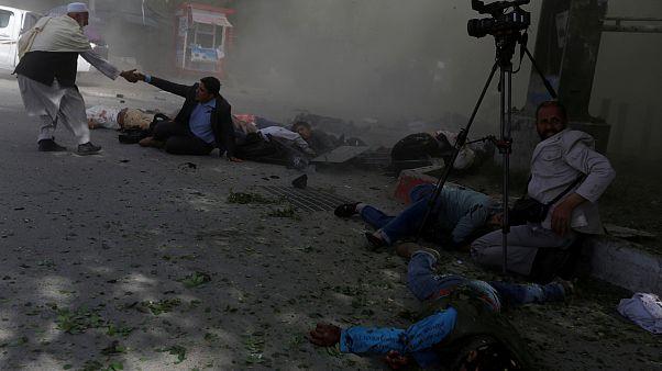 Két öngyilkos merénylet Kabulban