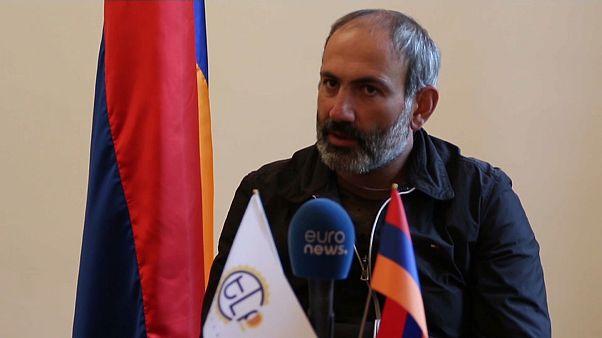 """Pashinián: """"Los armenios quieren ver a su candidato convertirse en primer ministro"""""""