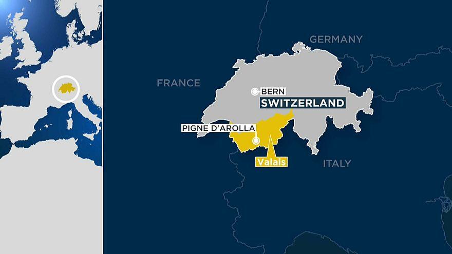 Mueren cuatro excursionistas en los Alpes Suizos