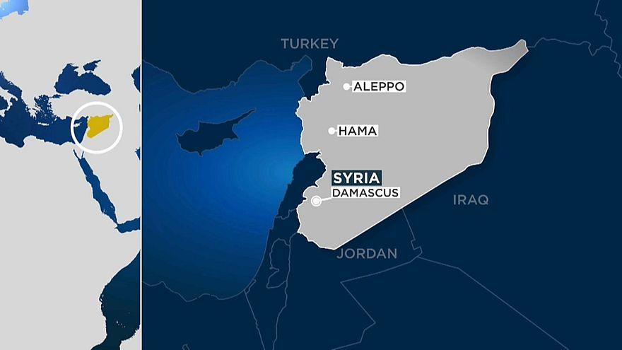 Suriye ordusuna ait mevzilere füze saldırısı