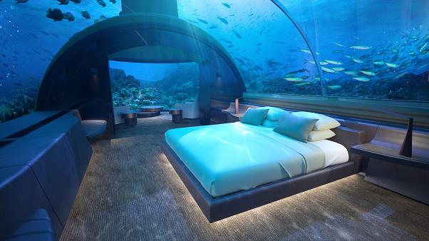 The world's first underwater residence