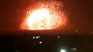 Siria sospecha de Israel como autor de los ataques a sus bases
