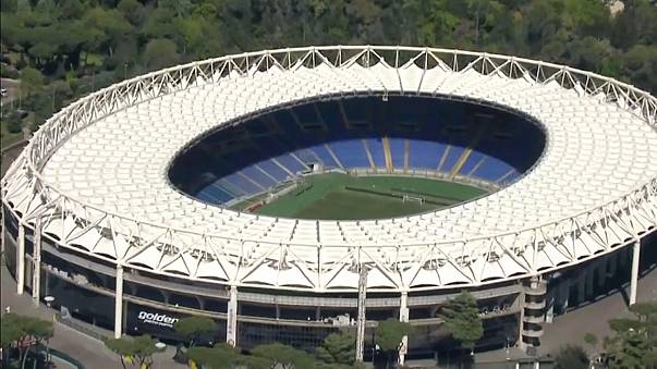 Rome throws ring of steel round city for Champions League semi-final