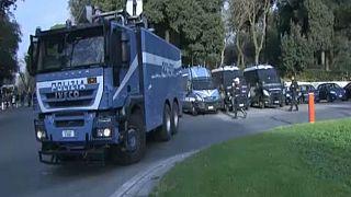 Σε αστυνομικό κλοιό η Ρώμη ενόψει του αγώνα Ρόμα-Λίβερπουλ