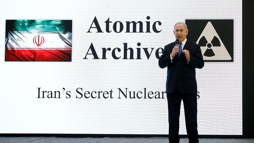 Netanjahu präsentiert Dokumente über ein geheimes Atomwaffen-Programm.