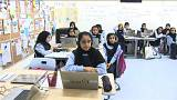 """بالفيديو: الإمارات تطلق مشروع """"ألف"""" للتعليم الإلكتروني بالمدارس"""
