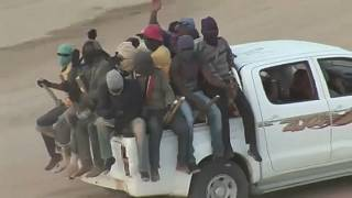tráfico humano no Níger