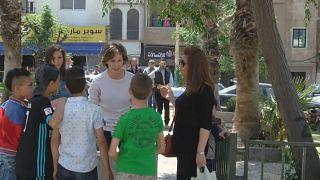 أسماء الأسد في مدينة حمص