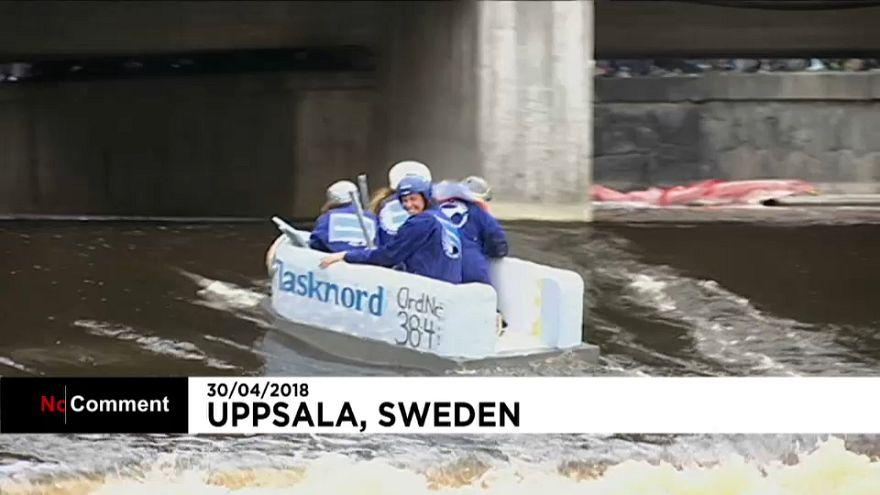 Schweden feiert Frühlingsbeginn