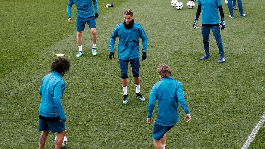 """Real Madrid """"muito motivado"""" para receção ao Bayern Munique"""