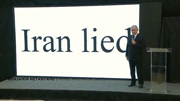 Netanyahu revela el supuesto programa nuclear secreto iraní
