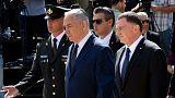 نخست وزیر و رئیس پارلمان اسرائیل در مراسم بزرگداشت قربانیان هولوکاست