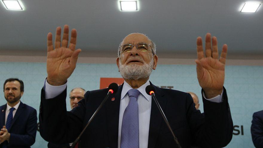 Temel Karamollaoğlu, Saadet Partisi'nin cumhurbaşkanı adayı oldu