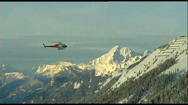چهار نفر در کوههای آلپ سوئیس یخ زدند
