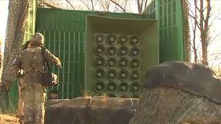 Vége a koreai határ menti propaganda-háborúnak?