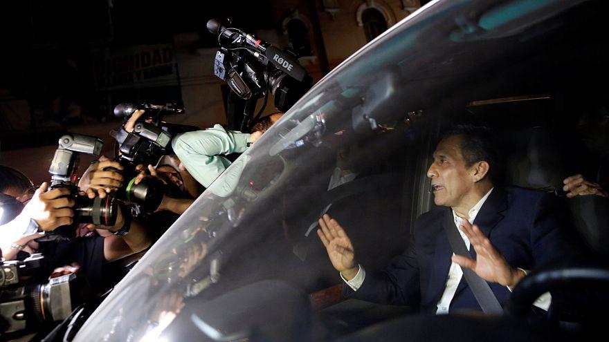 Ex-presidente Humala do Peru sai da prisão